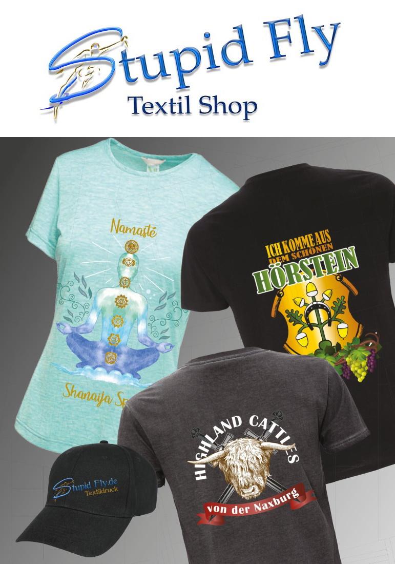 Stupid Fly Textil Shop mit Designer